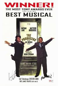 Producers, The (Broadway) - 27 x 40 Movie Poster - UK Style D