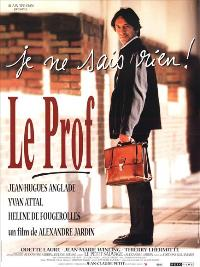 Prof, Le - 11 x 17 Movie Poster - French Style A