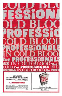 Professionals / In Cold Blood - 27 x 40 Movie Poster - Style A