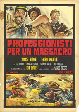 Professionals for a Massacre - 27 x 40 Movie Poster - Italian Style A