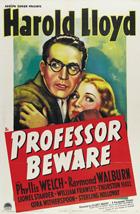 Professor Beware - 27 x 40 Movie Poster - Style B