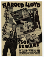 Professor Beware - 11 x 17 Movie Poster - Style C
