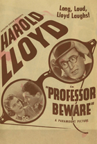 Professor Beware - 11 x 17 Movie Poster - Style D