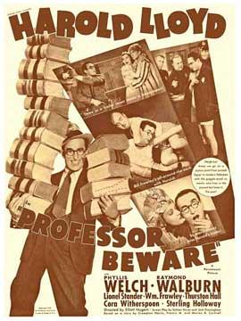 Professor Beware - 11 x 17 Movie Poster - Style A