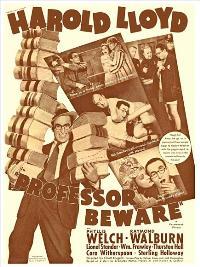 Professor Beware - 27 x 40 Movie Poster - Style A