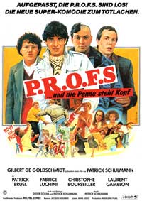 P.R.O.F.S. - 43 x 62 Movie Poster - German Style A