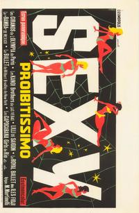Prohibited Sex - 27 x 40 Movie Poster - Belgian Style A