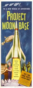 Project Moon Base - 14 x 36 Movie Poster - Insert Style A