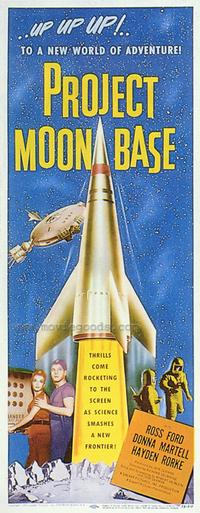 Project Moon Base - 43 x 62 Movie Poster - Bus Shelter Style A