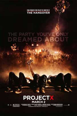 Project X - 11 x 17 Movie Poster - Style B