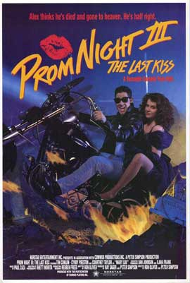 Prom Night 3: The Last Kiss - 27 x 40 Movie Poster - Style A