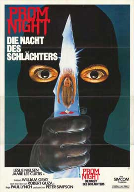 Prom Night - 27 x 40 Movie Poster - German Style A