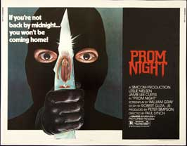 Prom Night - 22 x 28 Movie Poster - Half Sheet Style A