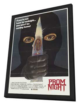 Prom Night - 27 x 40 Movie Poster - Style A - in Deluxe Wood Frame
