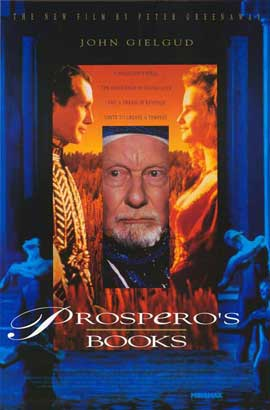 Prospero's Books - 27 x 40 Movie Poster - Style A