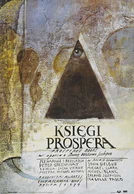 Prospero's Books - 11 x 17 Movie Poster - Polish Style A