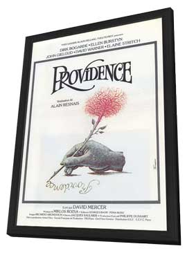 Providence - 27 x 40 Movie Poster - French Style A - in Deluxe Wood Frame
