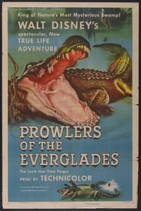 Prowlers of the Everglades - 11 x 17 Movie Poster - Style A