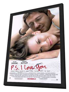 P.S., I Love You - 11 x 17 Movie Poster - Style A - in Deluxe Wood Frame