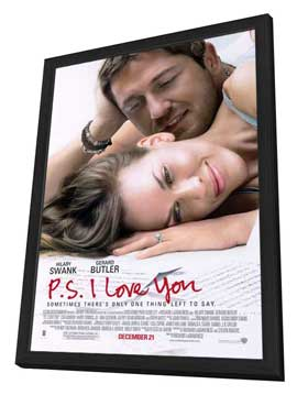 P.S., I Love You - 27 x 40 Movie Poster - Style A - in Deluxe Wood Frame
