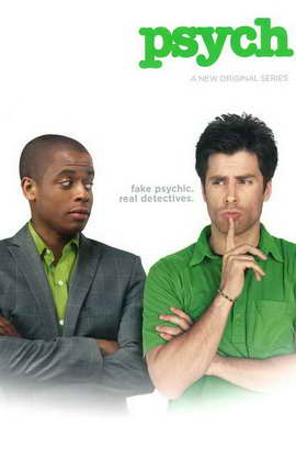 Psych - 11 x 17 TV Poster - Style A