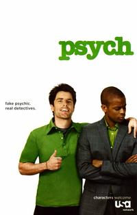 Psych - 11 x 17 TV Poster - Style D