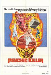 Psychic Killer - 11 x 17 Movie Poster - Style A