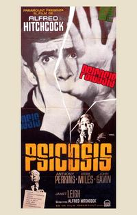 Psycho - 11 x 17 Movie Poster - Spanish Style A