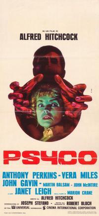Psycho - 11 x 17 Movie Poster - Italian Style B
