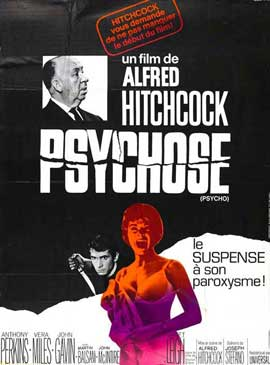 Psycho - 11 x 17 Movie Poster - French Style B