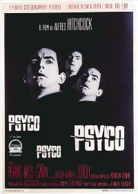 Psycho - 27 x 40 Movie Poster - Italian Style B