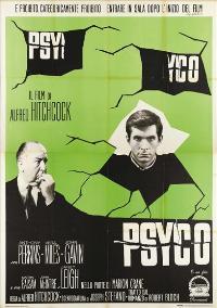 Psycho - 27 x 40 Movie Poster - Italian Style C