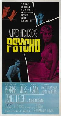 Psycho - 27 x 40 Movie Poster - Style D