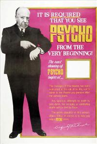 Psycho - 27 x 40 Movie Poster - Style E