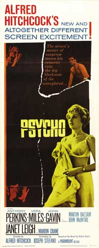 Psycho - 14 x 36 Movie Poster - Insert Style A