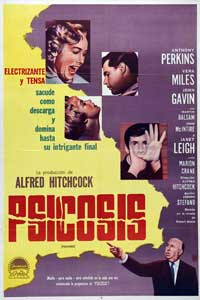 Psycho - 27 x 40 Movie Poster - Spanish Style B