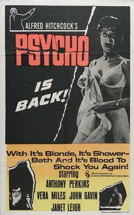 Psycho - 11 x 17 Movie Poster - Style J