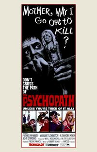 Psychopath - 11 x 17 Movie Poster - Style A