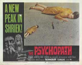 Psychopath - 11 x 14 Movie Poster - Style H