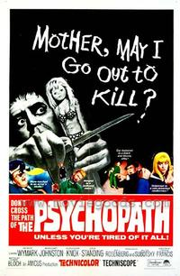 Psychopath - 27 x 40 Movie Poster - Style B