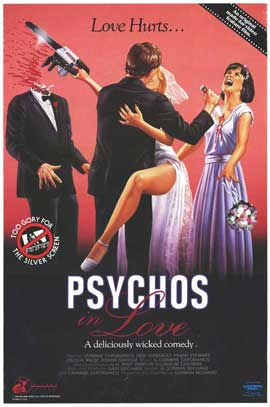 Psychos in Love - 27 x 40 Movie Poster - Style A