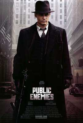 Public Enemies - 27 x 40 Movie Poster - Style A