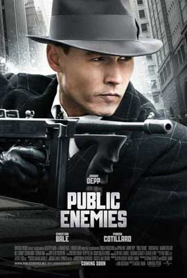 Public Enemies - 27 x 40 Movie Poster - Style B