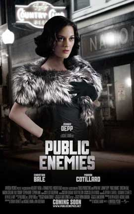 Public Enemies - 27 x 40 Movie Poster - Style C