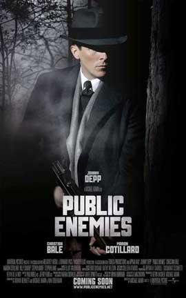 Public Enemies - 27 x 40 Movie Poster - Style D
