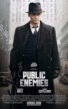 Public Enemies - 27 x 40 Movie Poster - Style E