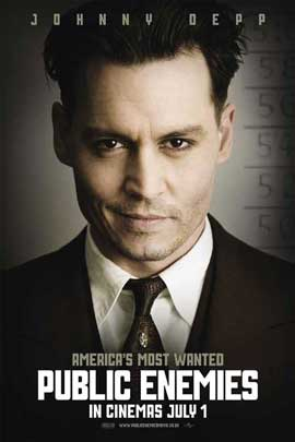 Public Enemies - 27 x 40 Movie Poster - UK Style A