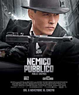 Public Enemies - 11 x 17 Movie Poster - Italian Style A