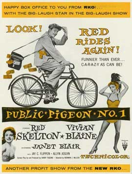 Public Pigeon No. One - 11 x 14 Movie Poster - Style A