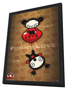 Pucca Club - Animation - 11 x 17 Movie Poster - Style A - in Deluxe Wood Frame